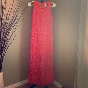 Dresses & Skirts - Beautiful never worn Coral long dress